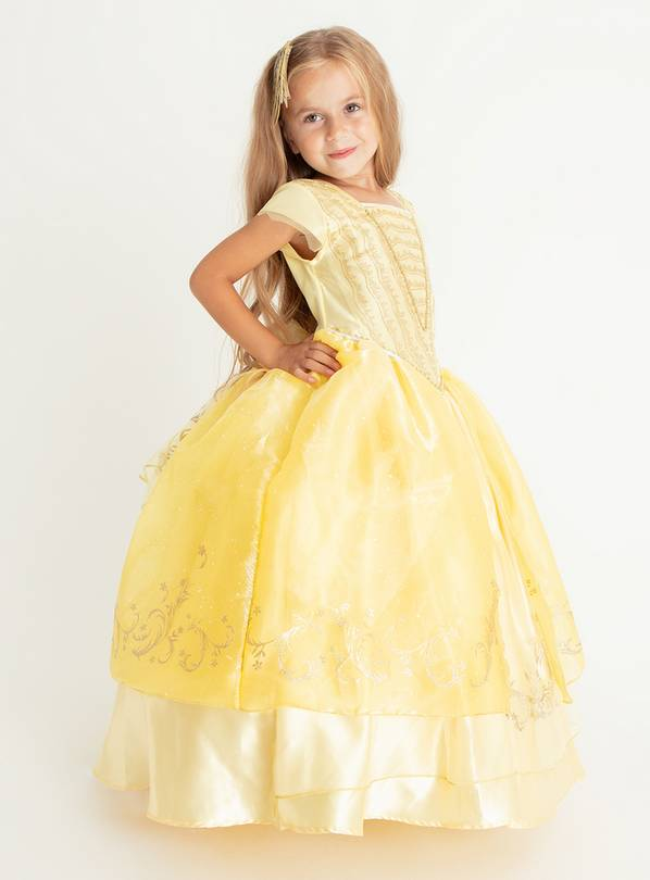 Disney Princess Belle Yellow Costume - 5-6 years