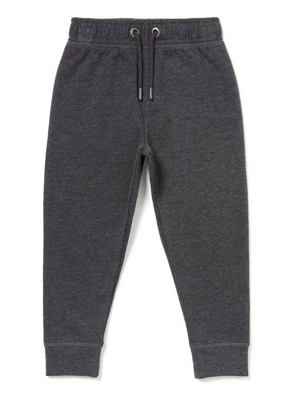 Charcoal Slim Joggers - 7 years