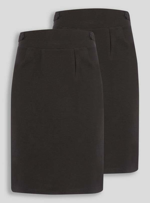 Black 2 Pack Tulip Skirt - 7 years