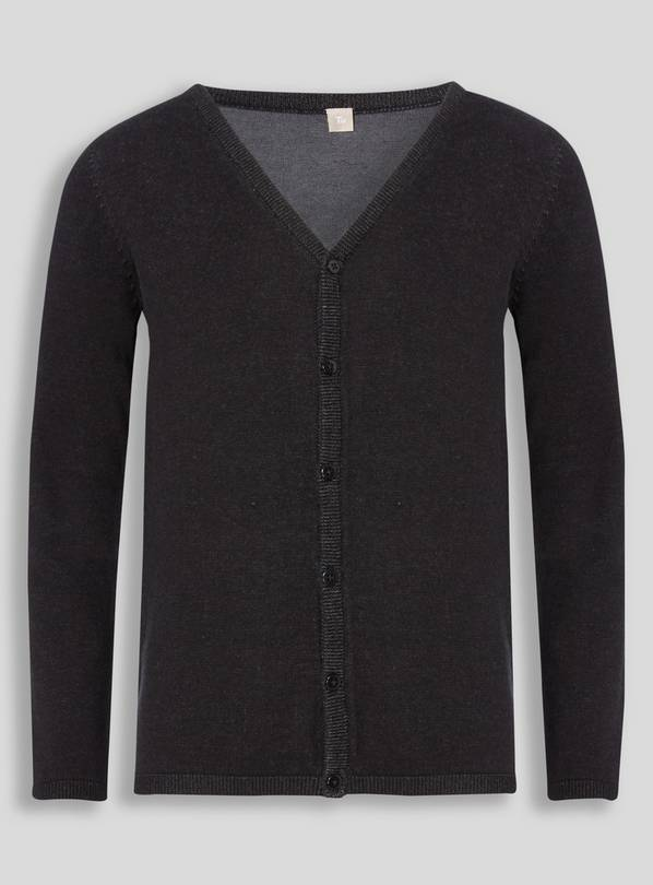 Black V-Neck Cardigan - 16 years