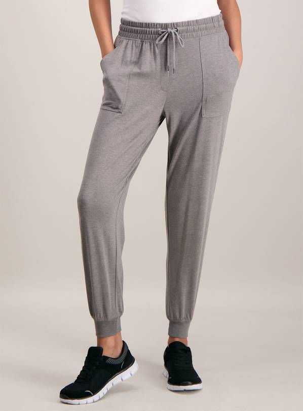 Grey Patch Pocket Joggers - 16