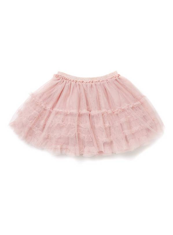 Pink Net Skirt - 13 years