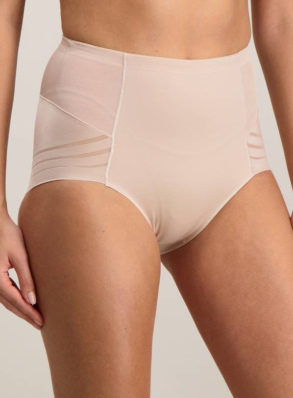 Natural No VPL Tummy Sculpting Firm Control Knickers - 16