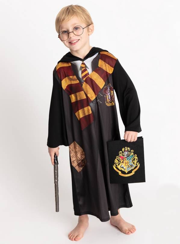 Harry Potter Black Gryffindor Costume - 7-8 years