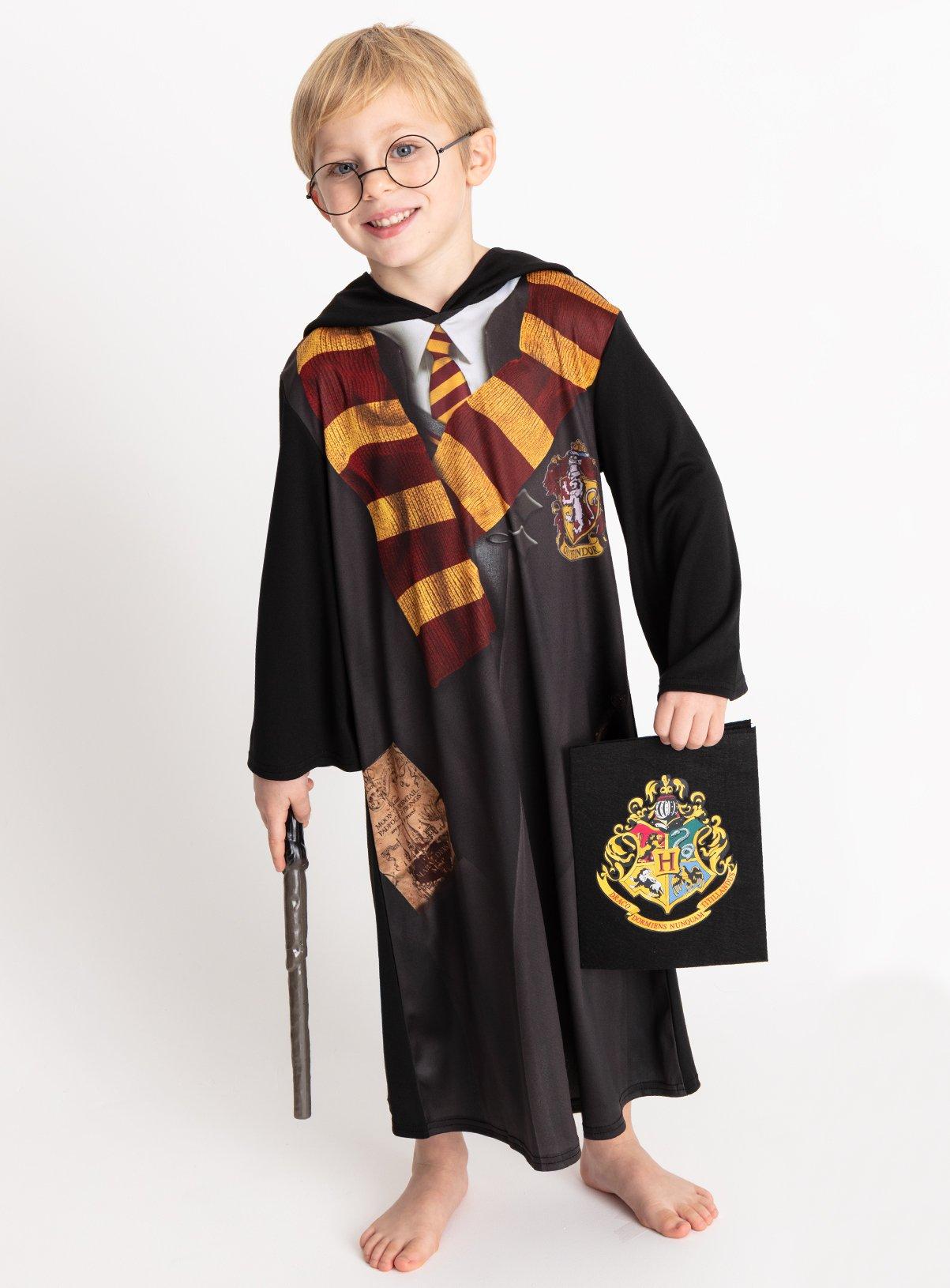 Harry Potter Black Gryffindor Costume - 11-12 years