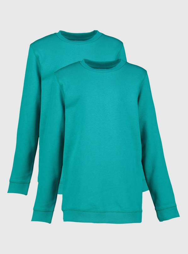 Jade Crew Neck Sweatshirt 2 Pack - 11 years