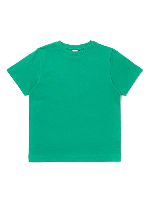 Green Crew Neck T-Shirt - 7 years