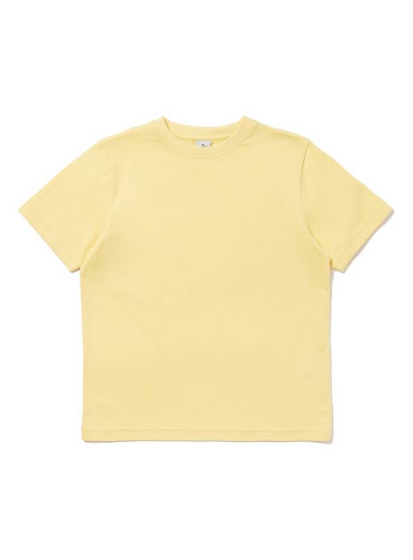 Yellow Crew Neck T-Shirt - 6 years