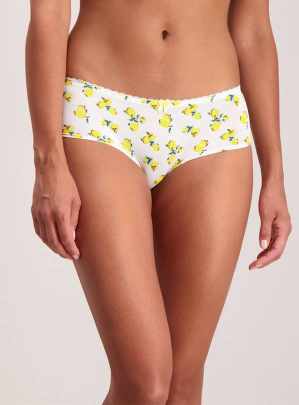 3 Pack Lemon Brief Shorts - 16