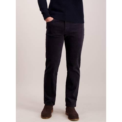 dc7ef86ddf6 Buy Dark Charcoal Grey Straight Leg Cords With Stretch - W36 L30 ...