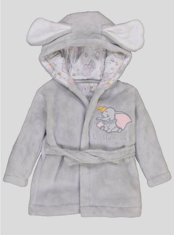 Buy Disney Dumbo Hooded Dressing Gown - 3-6 months   Sleepsuits and ...
