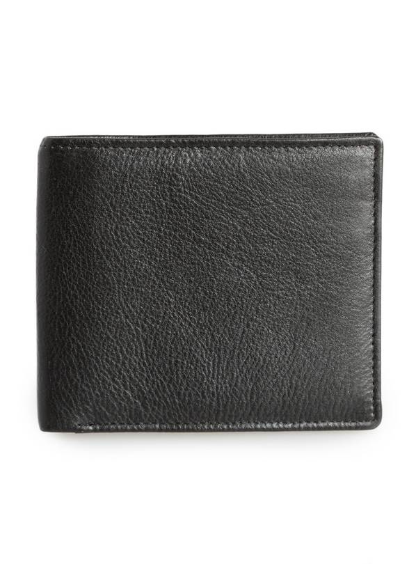Black Luxury Leather Wallet - One Size