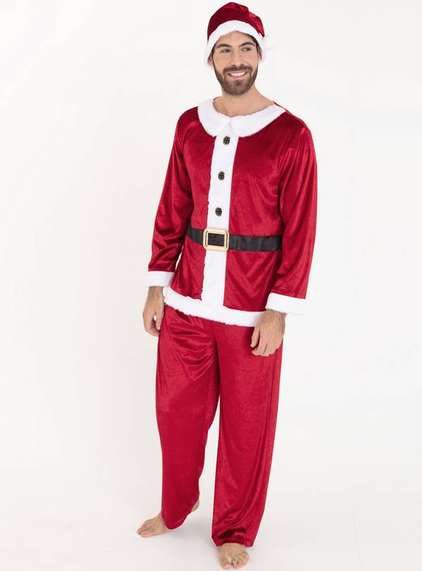 Online Exclusive Christmas Red Mr Santa Costume - L/XL