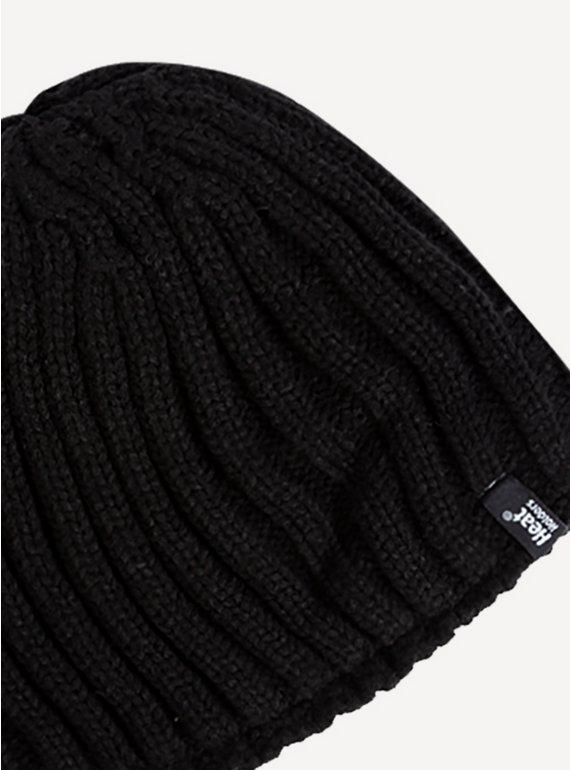 Buy SockShop Black Beanie Hat - One Size  351436c87e9