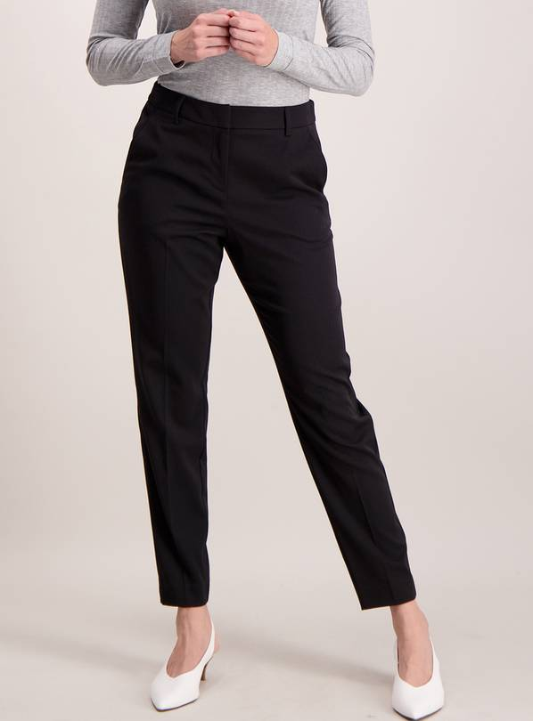 Black Tapered Trouser - 16R