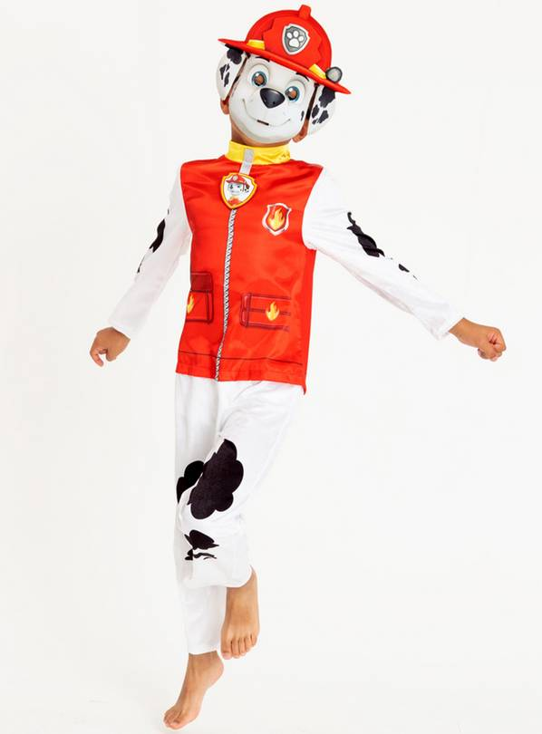 Paw Patrol Red Marshall Fancy Dress Costume - 7-8 years