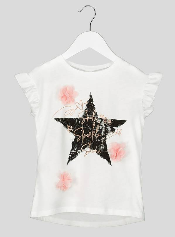 White Star Logo T-Shirt - 6 years