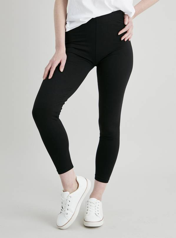 Black Luxurious Soft Touch Leggings - 12S