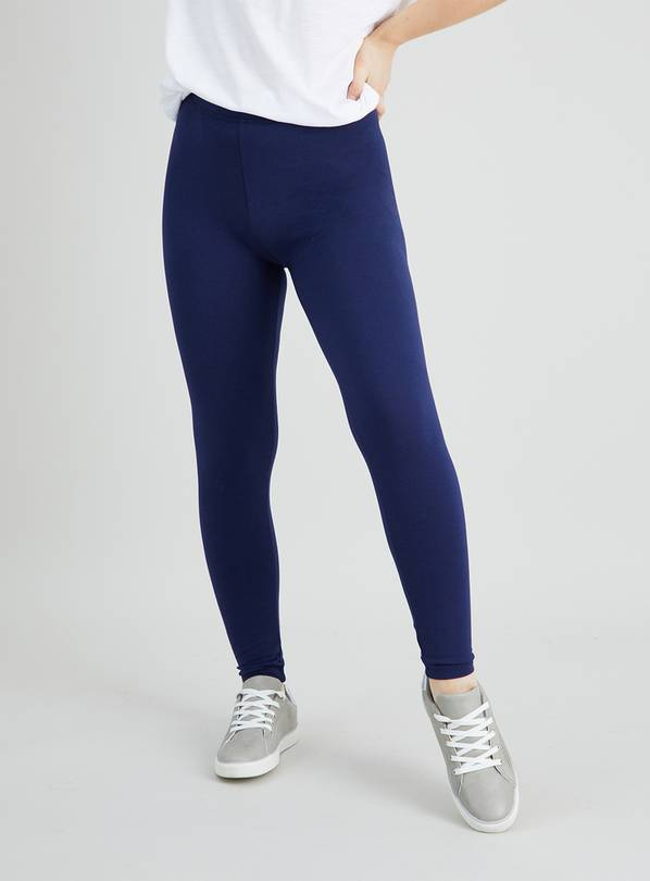 Navy Luxurious Soft Touch Leggings - 12S