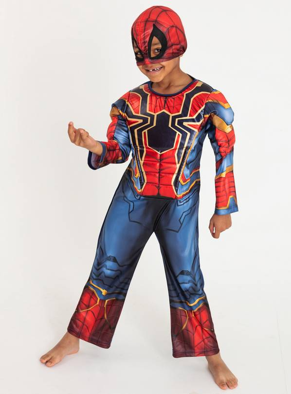Marvel Iron Spider-Man Costume - 3-4 Years