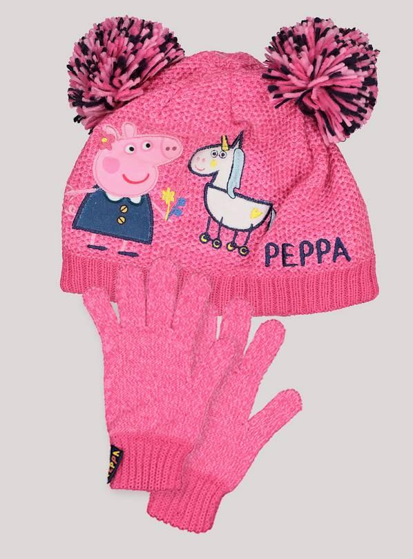 46696f7944b3f Buy Peppa Pig Unicorn Hat   Glove Set - 6-9 years
