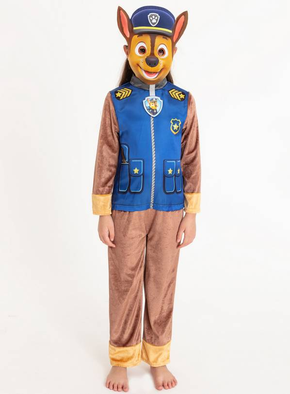 Paw Patrol Chase Blue Fancy Dress Costume - 1-2 years