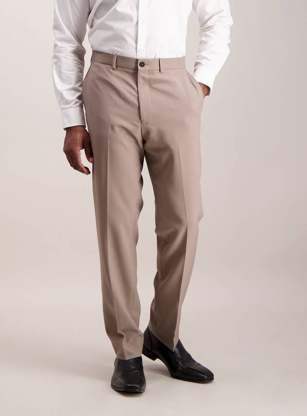 Online Exclusive Stone Tailored Fit Trousers - W36 L32