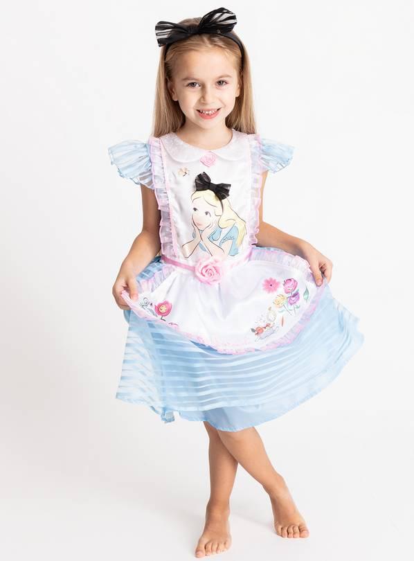 Buy Alice In Wonderland Blue Costume 3 4 Years Kids Fancy Dress