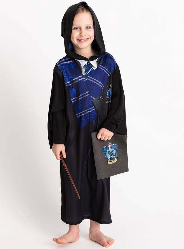 Harry Potter Black Ravenclaw Costume - 7-8 years