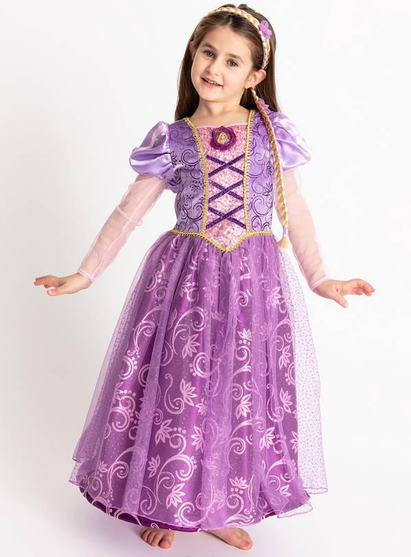 29d589828243 Buy Disney Princess Rapunzel Lilac Costume - 5-6 years | Kids fancy ...