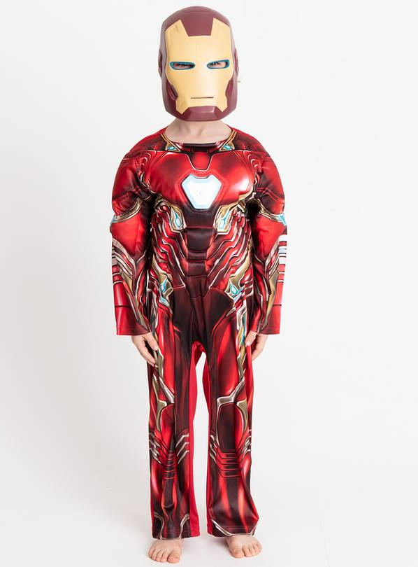 Marvel Avengers Iron Man Costume - 7-8 years