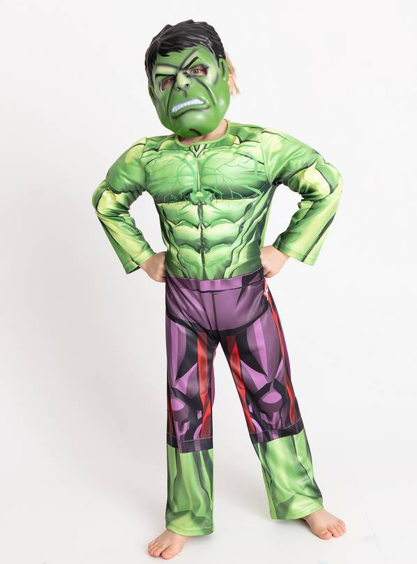 Marvel Avengers Hulk Costume - 9-10 years