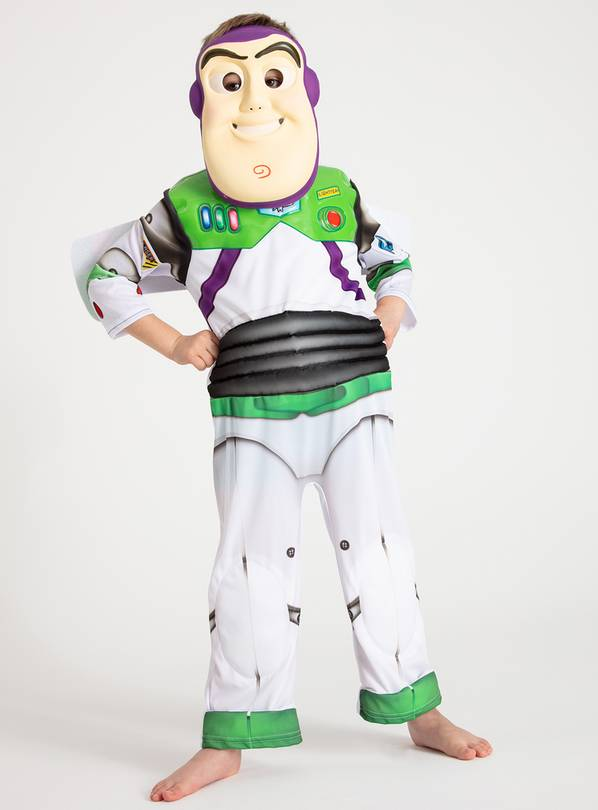 Disney Toy Story Buzz Lightyear Costume - 7-8 years