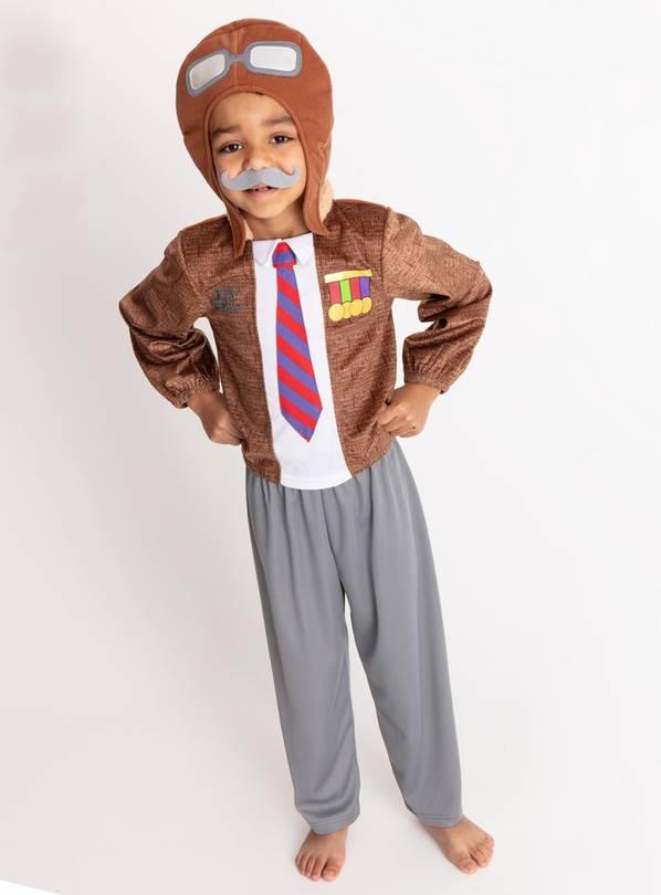 a43744fae67 Buy Grandpa s Great Escape Brown Costume - 3-4 Years