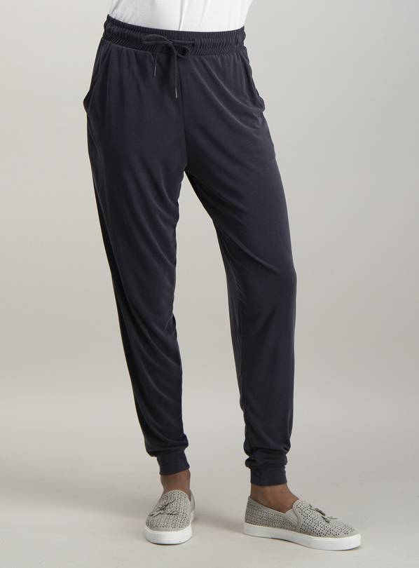 Grey Cuff Ankle Jogger - 22