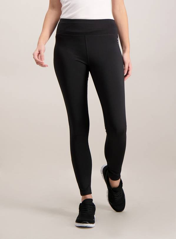 Active Black Leggings - 14