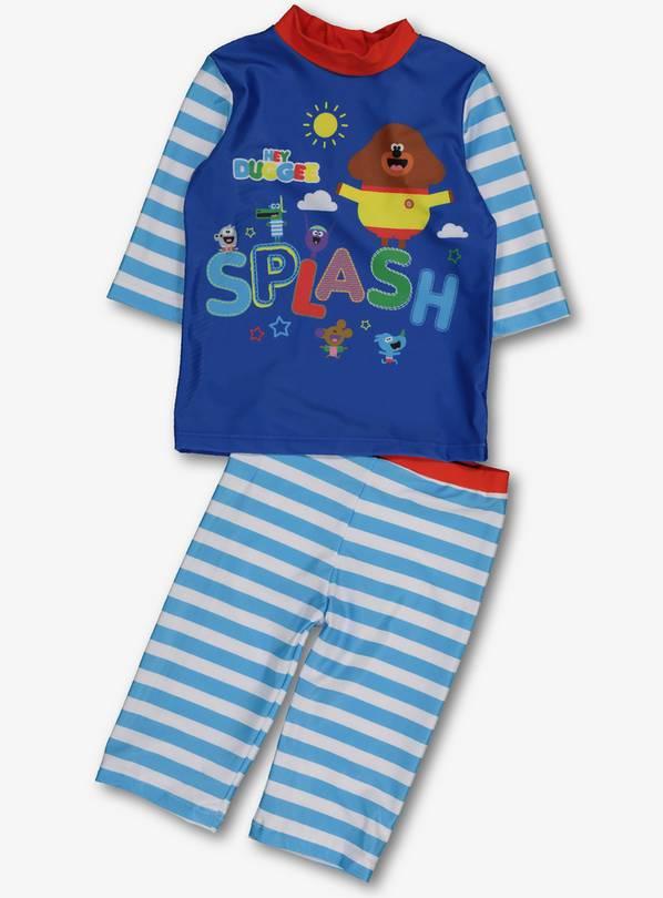 86d566b548026 Buy Hey Duggee Blue Sun Safe Swim Short & Top Set - 12-18 months ...