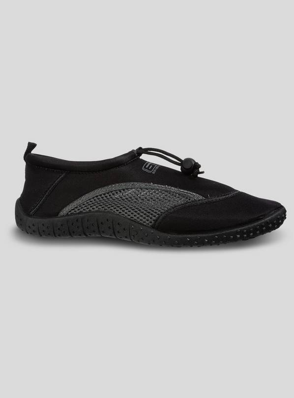 Black & Grey Neoprene Wetshoes - 39