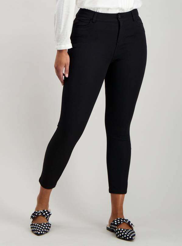 Black Stretch Treggings - 20R