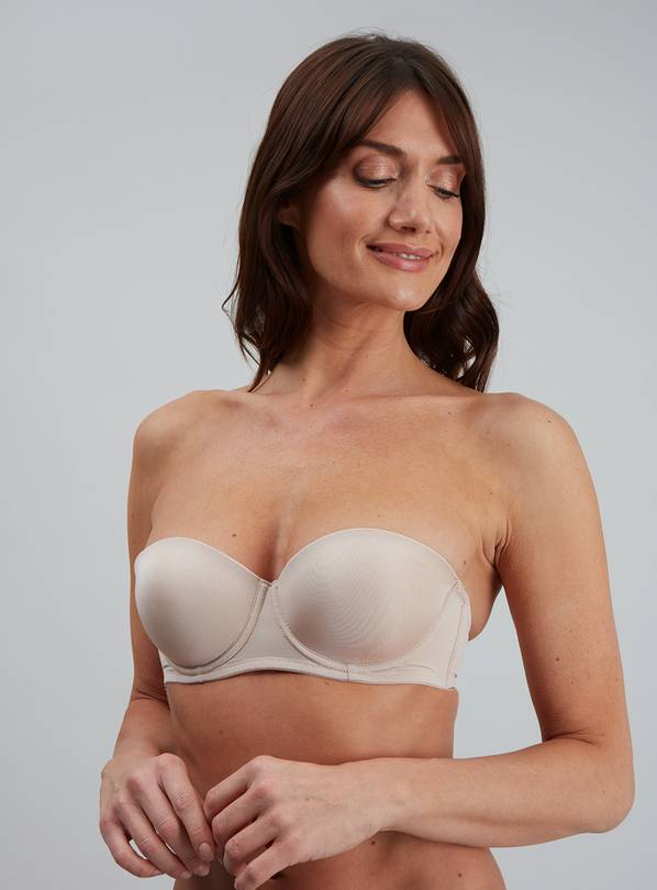 Online Exclusive White & Nude Multiway Bra 2 Pack - 34B