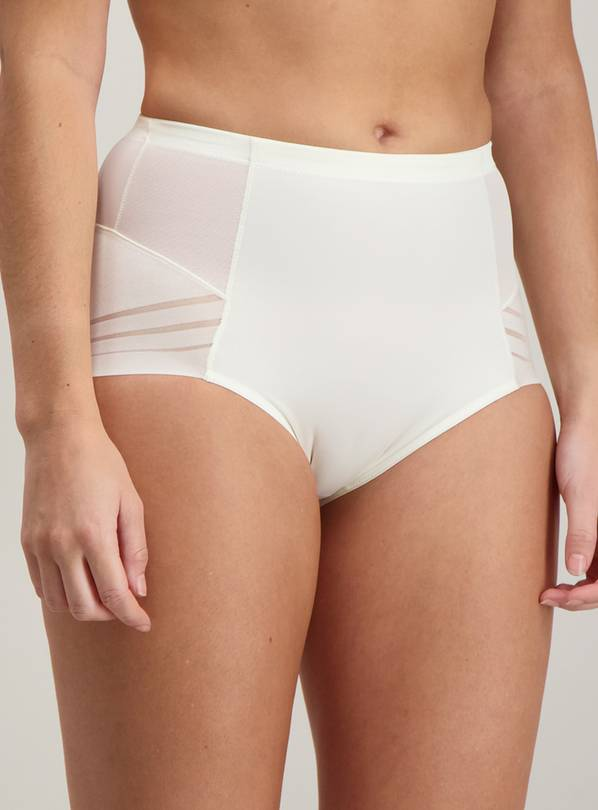 Secret Shaping Ivory Firm Control Knickers - 20