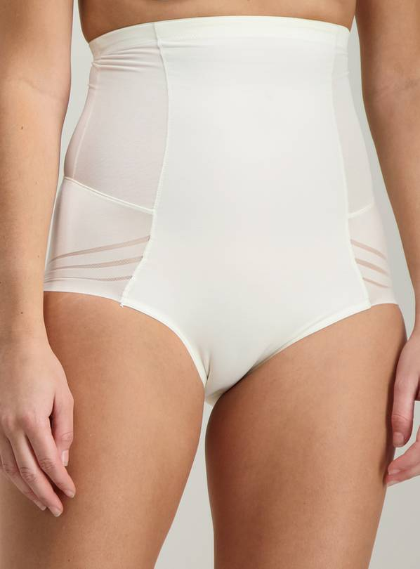 Secret Shaping Ivory No VPL High Waist Knickers - 10