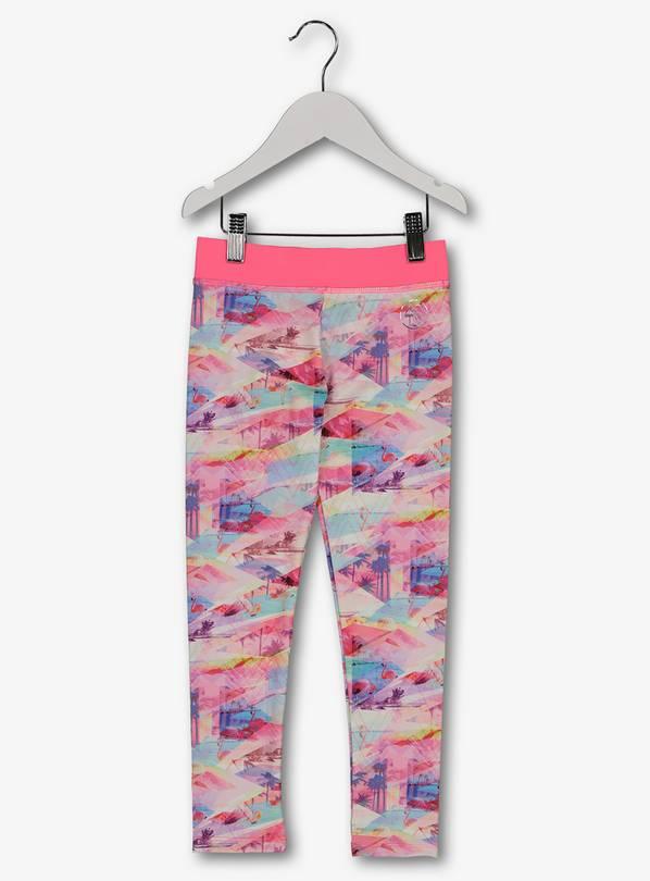5443140df75 Buy Neon Pink Flamingo Print Dance Leggings - 3 years | Jeans and ...