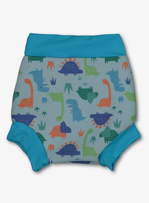 29660763eb Buy Banana Bite Blue Dinosaur Print Swim Nappy Cover - Up to 3 m ...