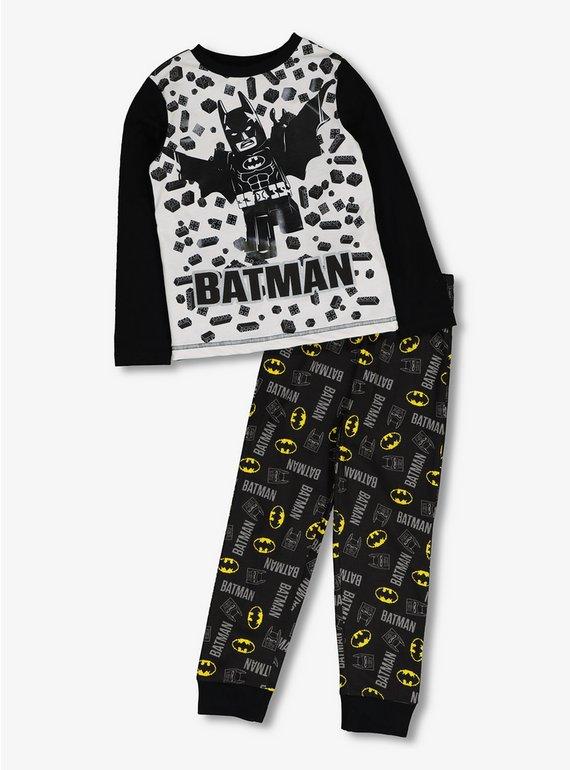 Buy Lego Batman Black   White Pyjamas - 11-12 years  f18669827