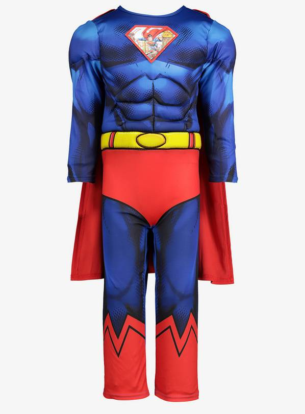 Multicoloured Superman Dress Up Costume - 1-2 years