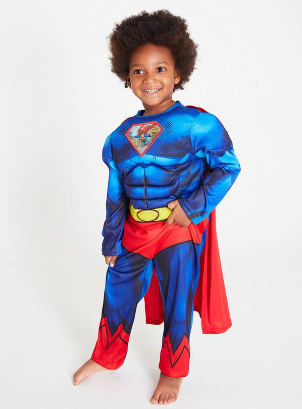 DC Comics Superman Blue Costume - 9-10 years