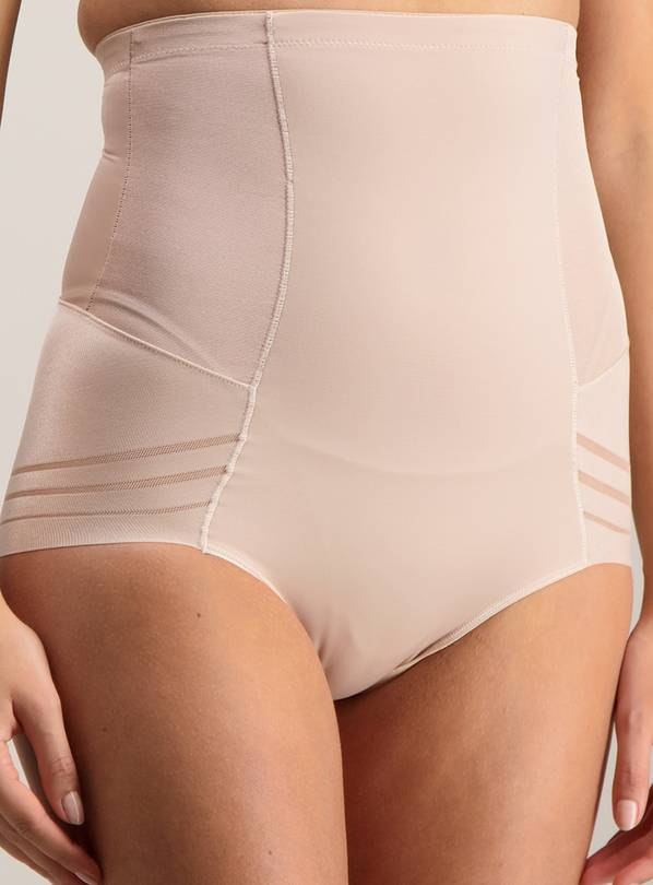 Natural Firm Control Waist Sculpting High Waist Knickers - 8