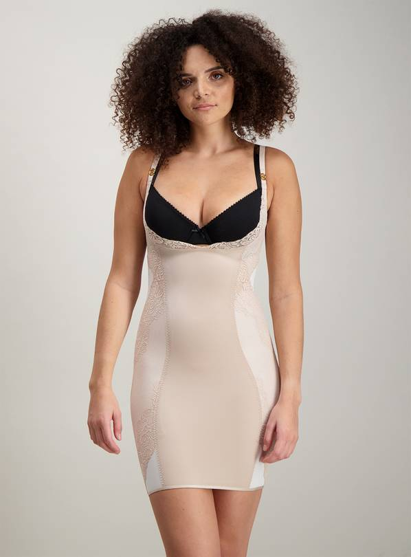 Online Exclusive Secret Shaping Nude Slip Dress Firm Control