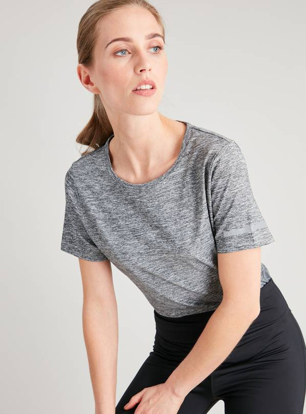 Active Grey Space Dye T-Shirt - 24